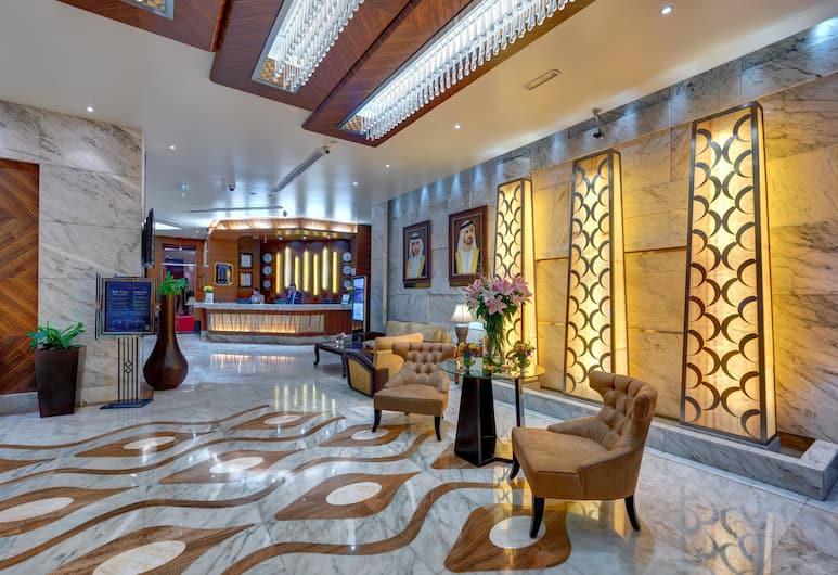 Emirates Grand Hotel, Dubai, Lobby