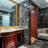 Executive lakosztály, 1 king (extra méretű) franciaágy, nemdohányzó - Fürdőszoba