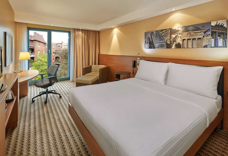 Hampton by Hilton Berlin City West, Berlin, Room, 1 Queen Bed, Courtyard View, Guest Room View