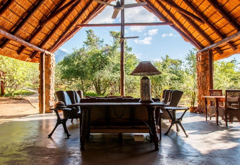 Shikwari Game Reserve, Hoedspruit, Terraza o patio