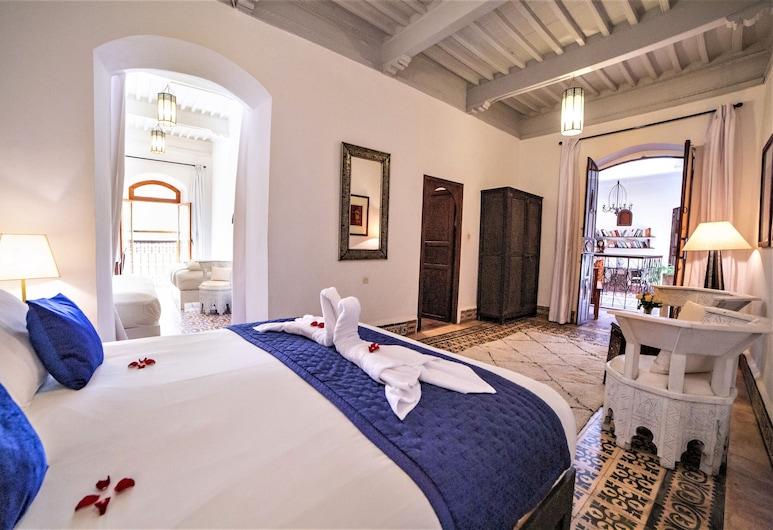 Villa Garance, Essaouira, ห้องสวีท, ห้องน้ำส่วนตัว (Vue Ville), ห้องพัก