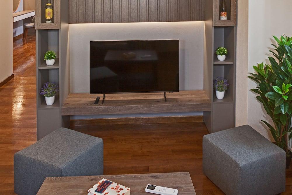 Grand Luxury Suite with Panoramic View - Sala de estar