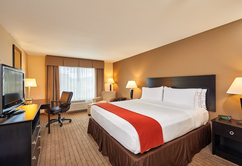 Holiday Inn Express & Suites El Paso Airport Area, El Paso, Room, 1 King Bed, Non Smoking (LEISURE), Guest Room