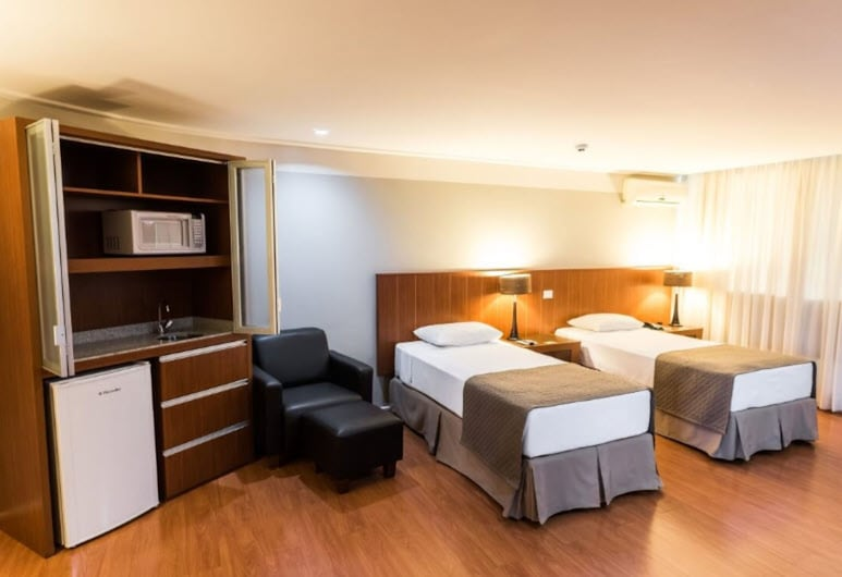 Hotel Boulevard, Londrina, Executive Twin Room, Guest Room
