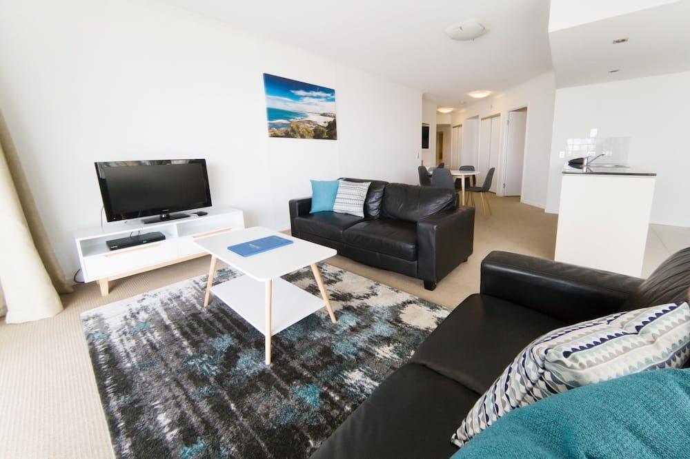 Apartament rodzinny, 2 sypialnie, dla niepalących, kuchnia (Family Apt 1Nt) - Powierzchnia mieszkalna