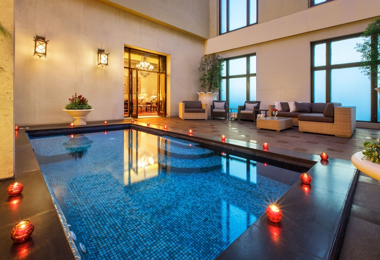 The Leela Palace New Delhi, New Delhi, Royal Suite with Plunge Pool, Kamer