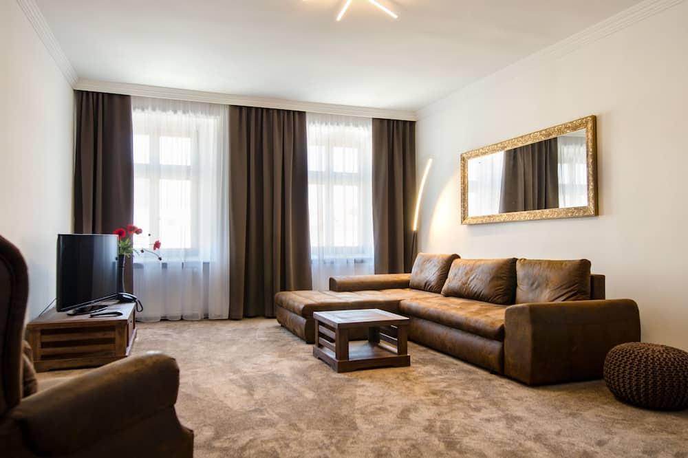 Apartmán - Obývačka