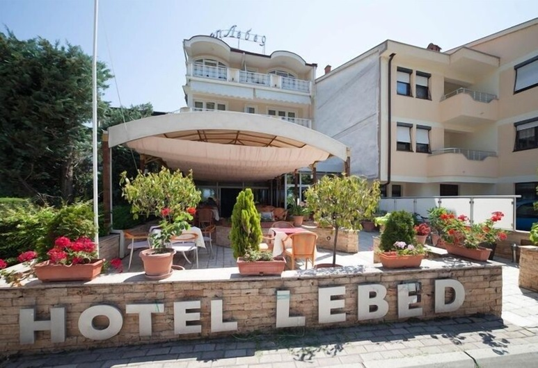Lebed, Ohrid, Θέα από το ξενοδοχείο