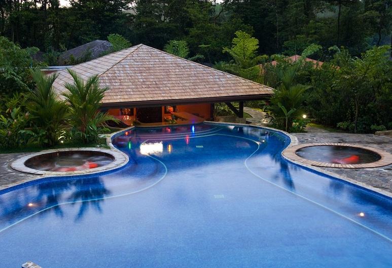 Hotel Rio Celeste Hideaway, Katira, Bazén