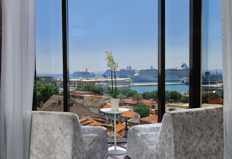 Boutique Hotel Luxe, Split, Deluxe-Suite, Balkon, Meerblick, Zimmer