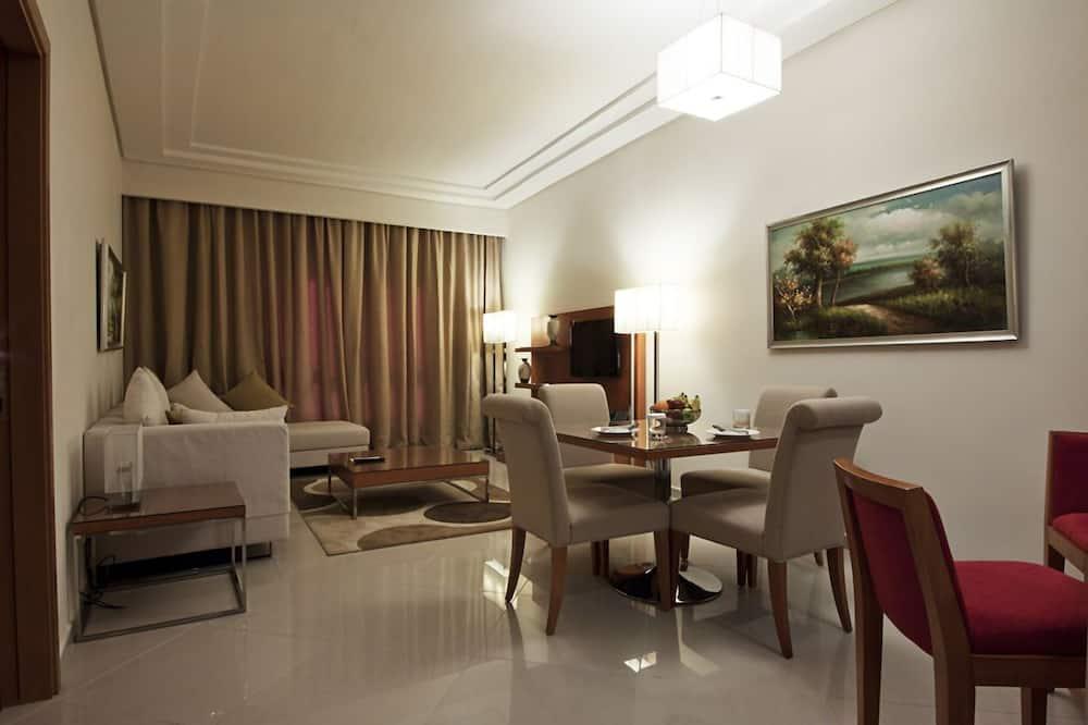 Luksusa numurs, viena guļamistaba - Dzīvojamā istaba