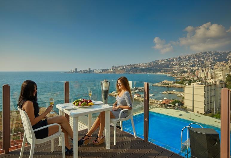 Princessa Hotel, Jounieh, Outdoor Dining