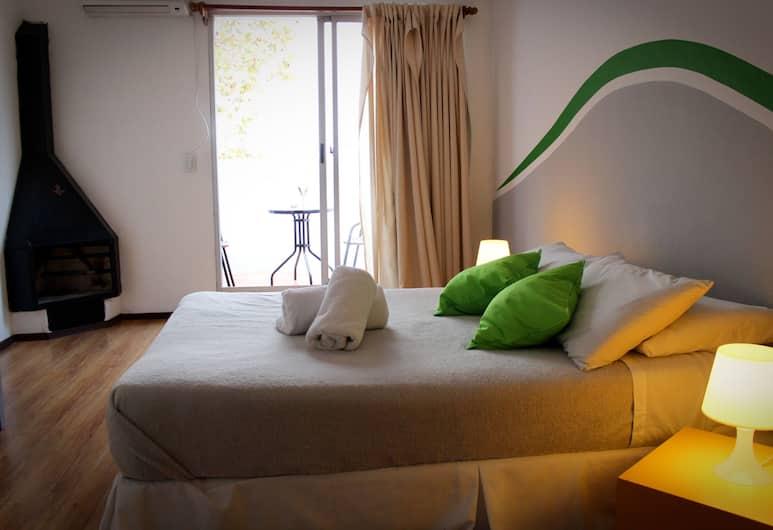 Che Lagarto Montevideo - Hostel, Montevideo, Kamar Double, kamar mandi pribadi, Kamar Tamu