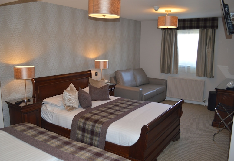Beaufort Hotel, Inverness, Family Room, Guest Room