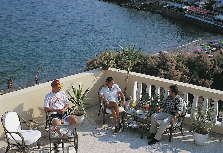 Mare Olympus Apartments, Ayios Nikolaos, Terraza o patio