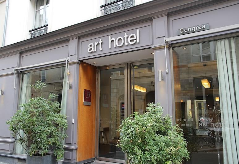 Art Hotel Congres, Paris, Hotel Entrance