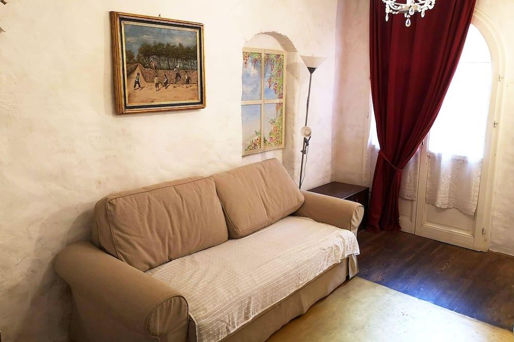 Apartmá s ložnicí a obývacím koutem, 2 ložnice, nekuřácký, soukromá koupelna - Obývací prostor