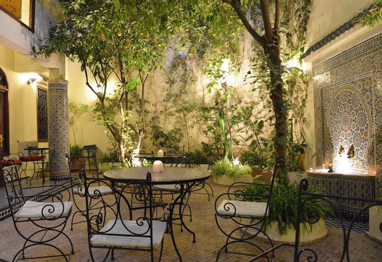 Riad Jardin Chrifa, Fes, Teres/Laman Dalam
