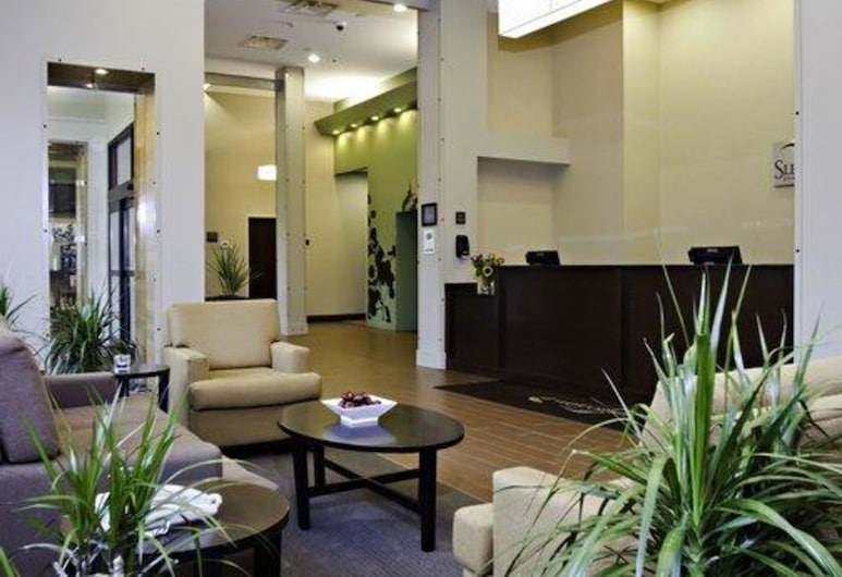 Sleep Inn & Suites Downtown Inner Harbor, Condado de Baltimore, Lobby