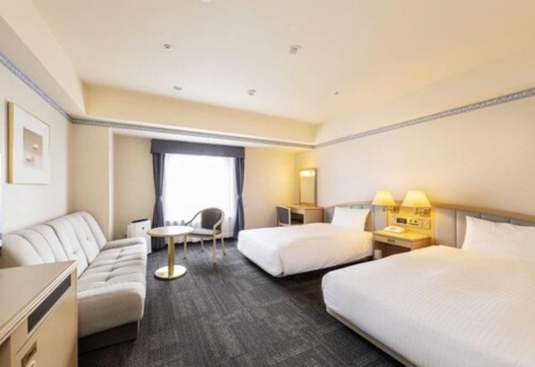 Sapporo Garden Palace, סאפורו, חדר דה-לוקס טווין, ללא עישון, חדר אורחים