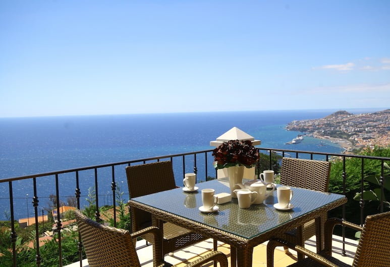 帕海洛村飯店 - 有花園及高爾夫球場及 Spa, 芳夏爾, 公寓, 2 間臥室, 海景 (& Funchal View), 露台