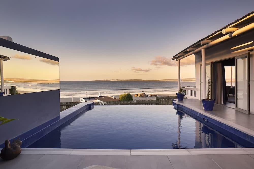 Villa de lujo, 2 habitaciones, piscina privada, vista al mar - Habitación