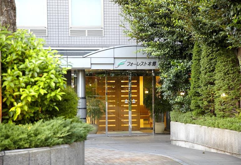 Hotel Forest Hongo, Tokyo, Hotel Front