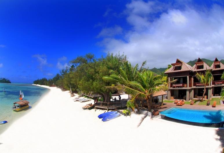 Te Vakaroa Villas, Rarotonga, Beach