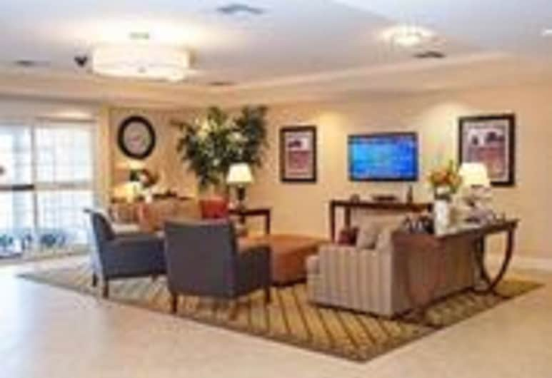 Candlewood Suites Lawton Fort Sill, Lawton, Zona con asientos del vestíbulo
