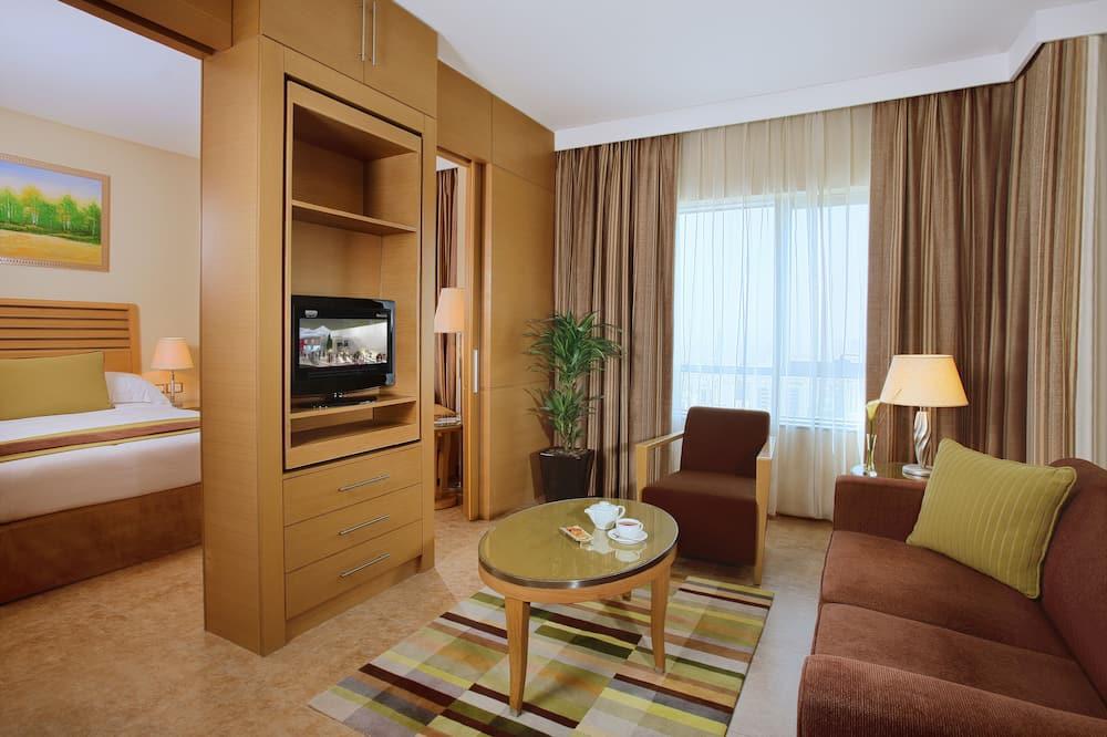Suite clásica, 1 cama King size - Sala de estar