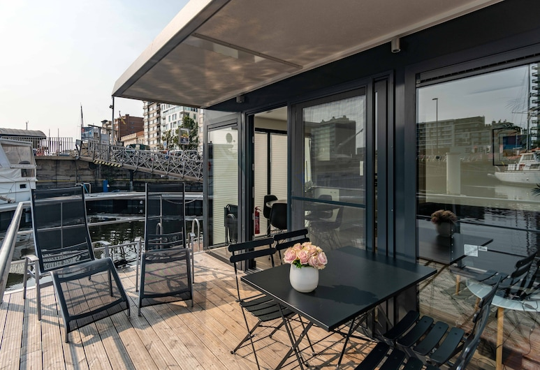 Hotel Burlington, Ostenda, Houseboat, Taras/patio