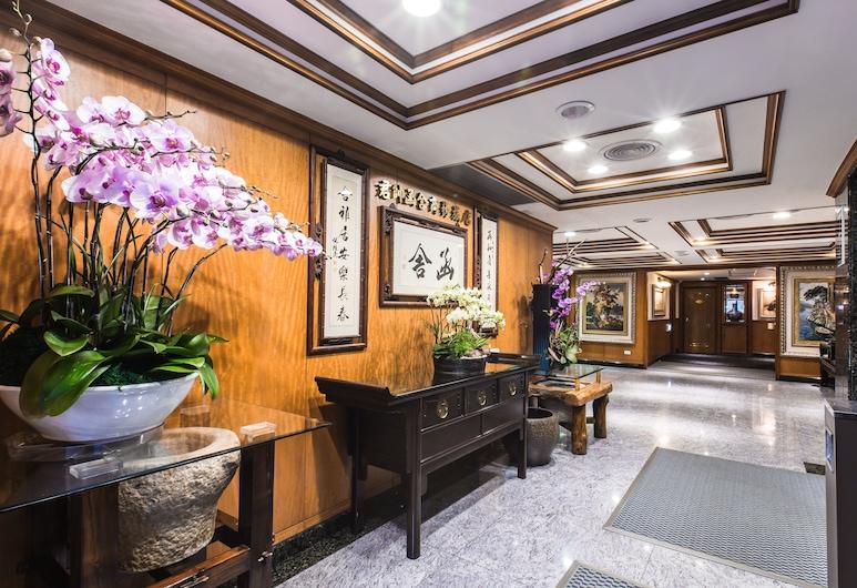 函舍商務旅店, 台北市, 櫃台