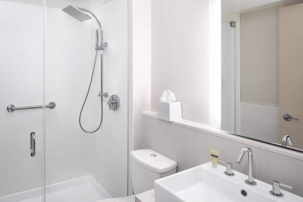 Izba typu City, 1 extra veľké dvojlôžko, nefajčiarska izba, výhľad na mesto - Kúpeľňa