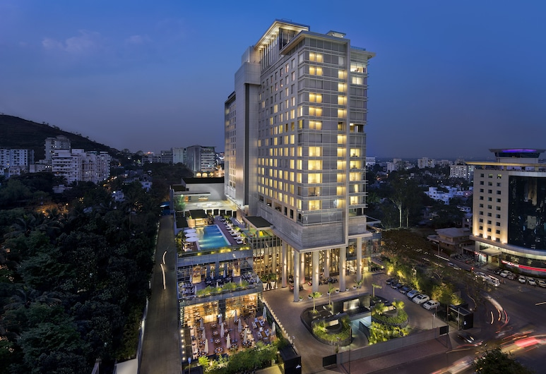 JW Marriott Hotel Pune, Pune, Fasada hotelu