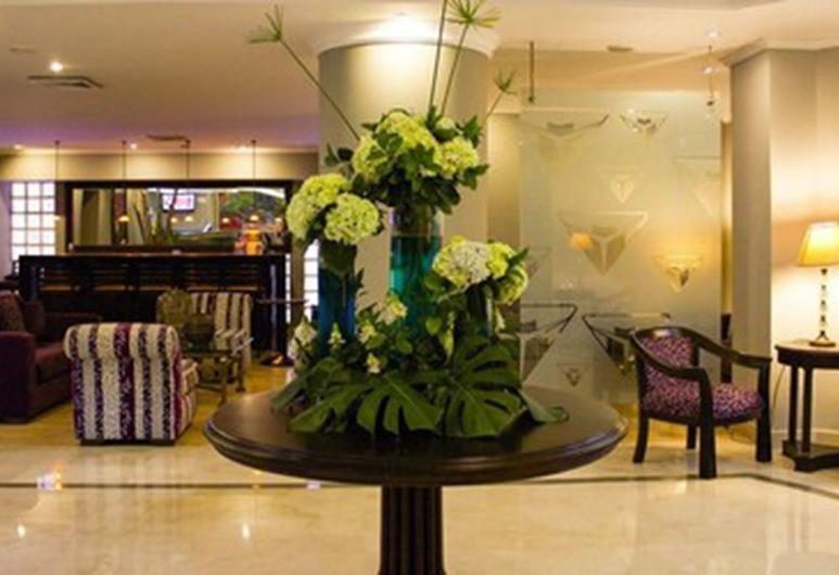 Hotel Internacional la Triada, Bucaramanga, Sitteområde i lobbyen