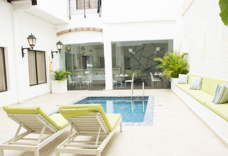Hotel Charlotte Cartagena, Cartagena, בריכה חיצונית