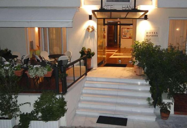 Hanioti Hotel, Kassandra, Wejście do hotelu