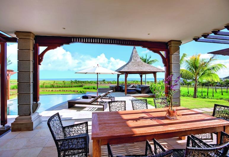 Heritage the Villas, Bel Ombre, Vila, 4 kamar tidur, pemandangan samudra, Kamar Tamu