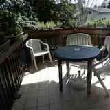 Komforta studijas tipa numurs, skats uz dārzu, stūris - Balkons