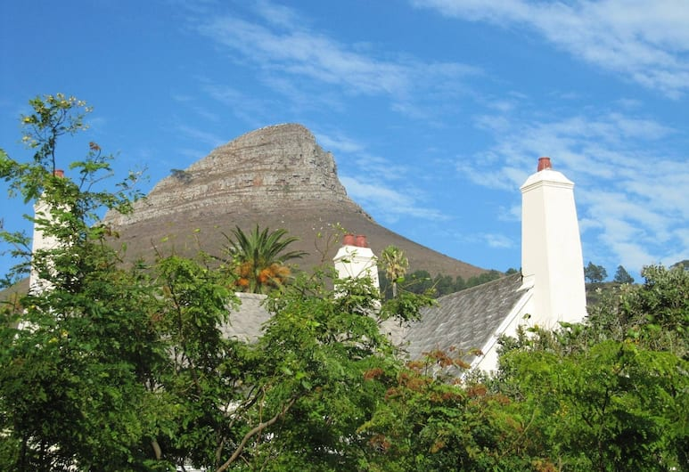 An African Villa, Cape Town, View from Hotel
