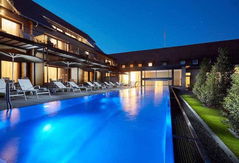 Hotel Schloss Reinach, Friburgo de Brisgovia, Piscina al aire libre