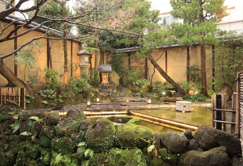 NISHIYAMA RYOKAN, Kyoto, Courtyard