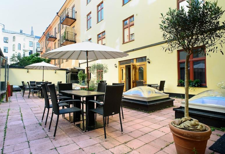 Rex Petit, Estocolmo, Terraza o patio