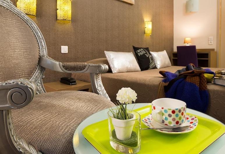 De la Cite Rougemont, Paris, Double Room, Guest Room