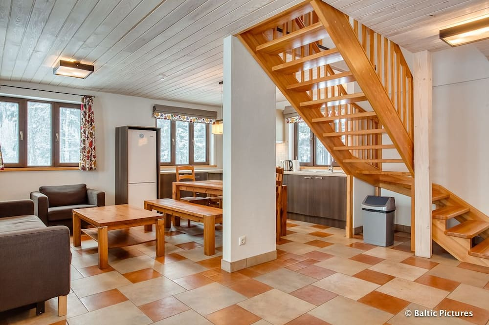 Basic House, 4 Bedrooms, Sauna, Garden View - Living Area