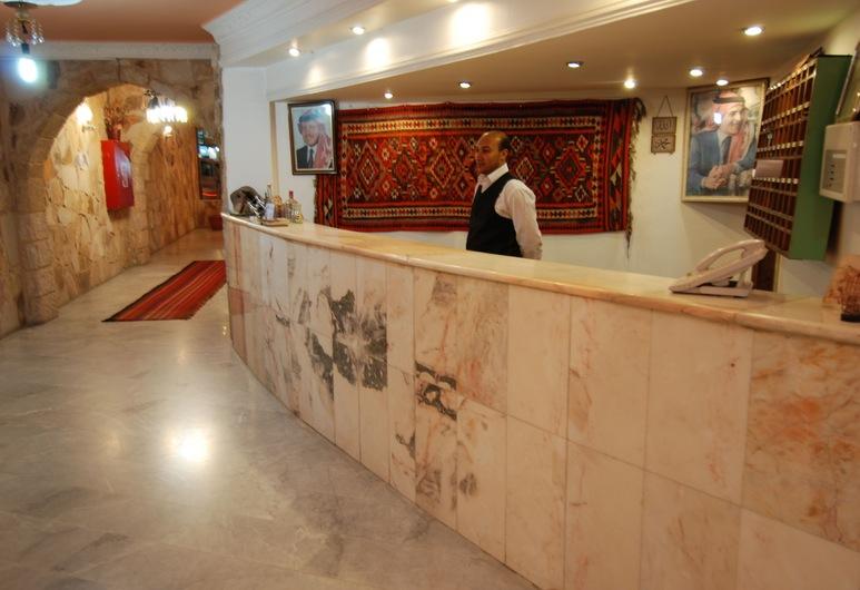 Al Rashid Hotel, Wadi Musa, Rezeption