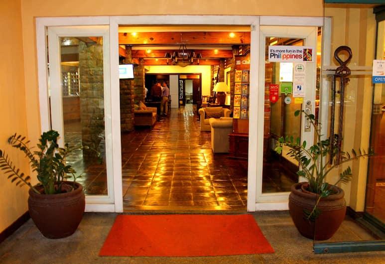 碧瑤市喜利多飯店, Baguio, 飯店入口