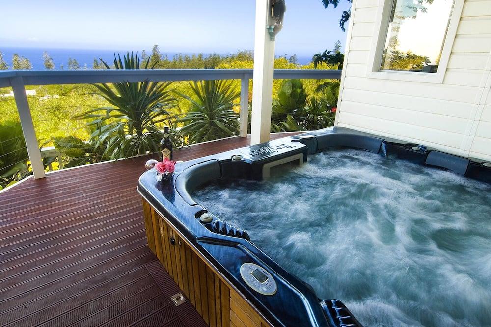 Exclusive House, 5 Bedrooms, Hot Tub, Ocean View - Terrace/Patio