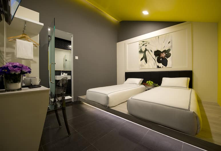 Venue Hotel, Singapore, Standard Room, 2 Twin Beds, Guest Room