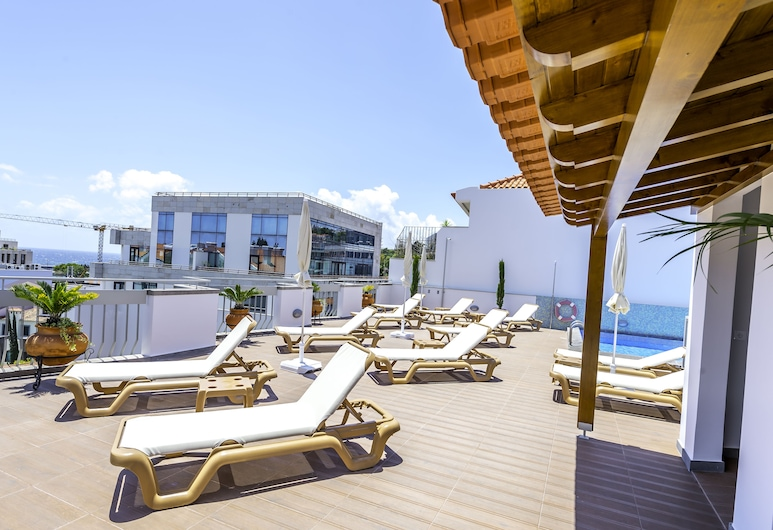 馬德拉飯店, 芳夏爾, 日光浴甲板